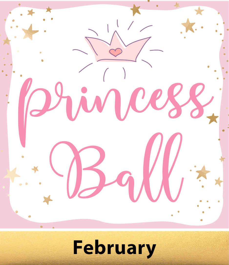 Princess Ball Icon with February