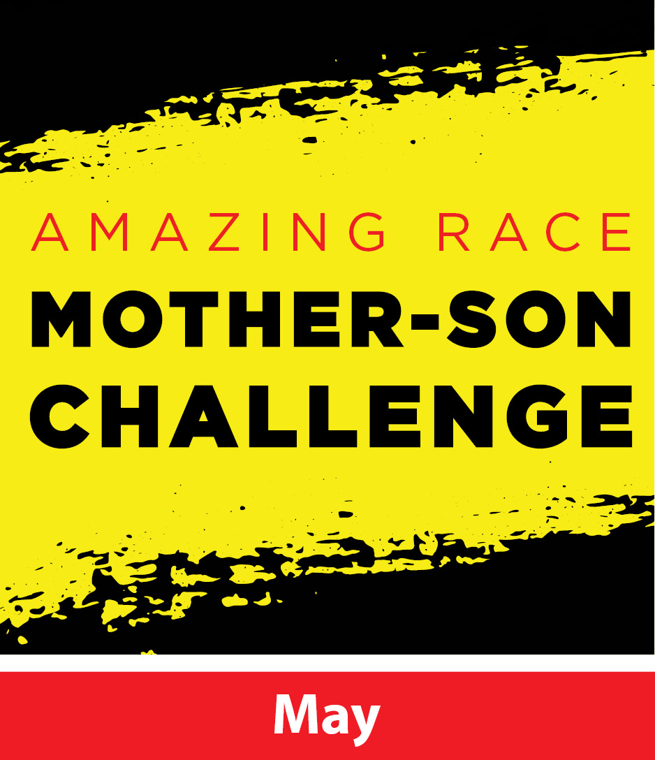 Amazing Race Mother Son Challenge Icon with May