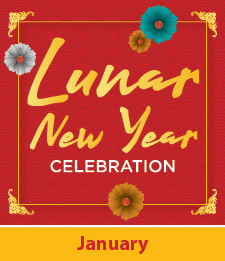 Lunar New Year logo with Jan underneath