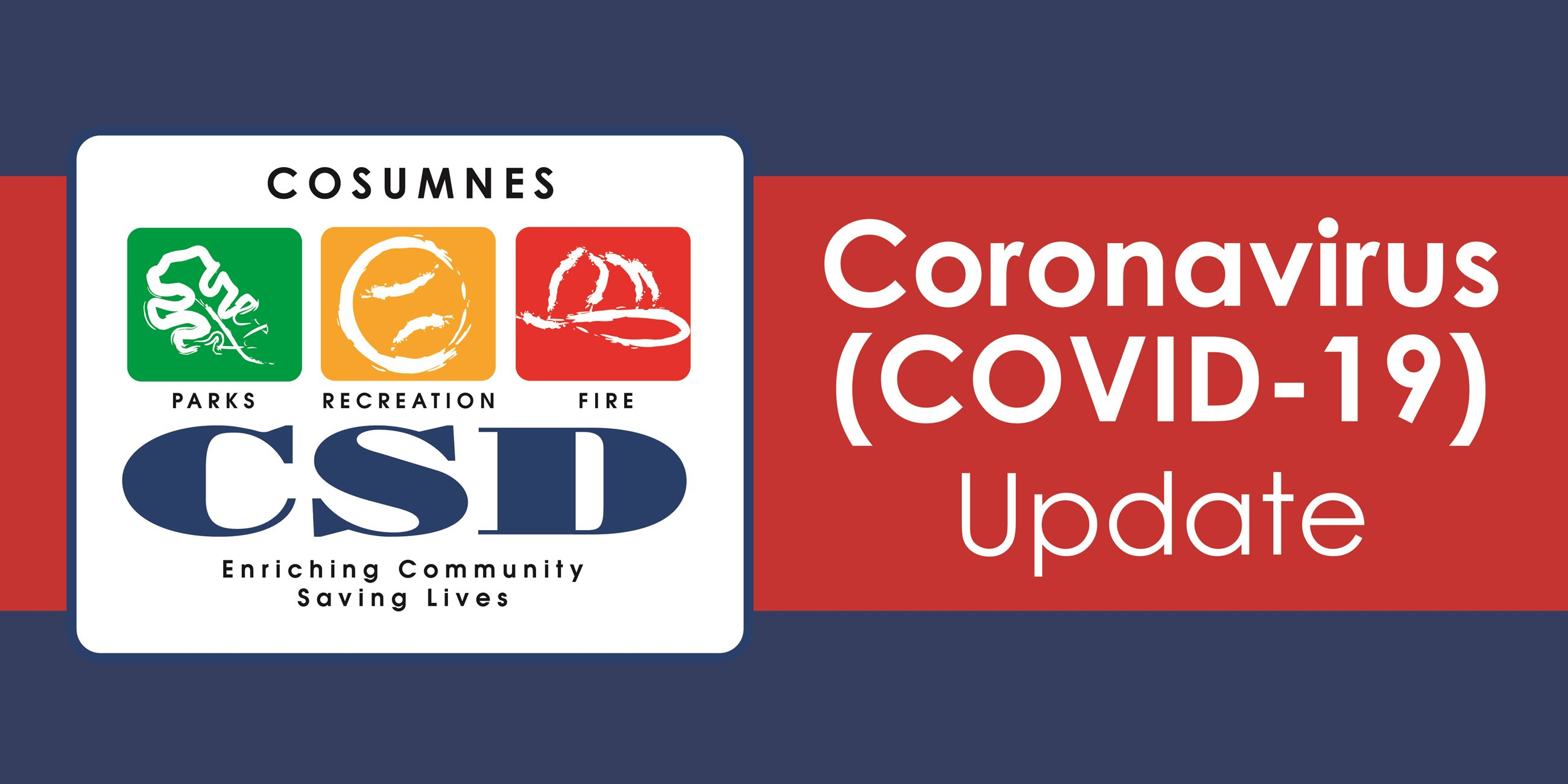 Coronavirus Update from Cosumnes CSD