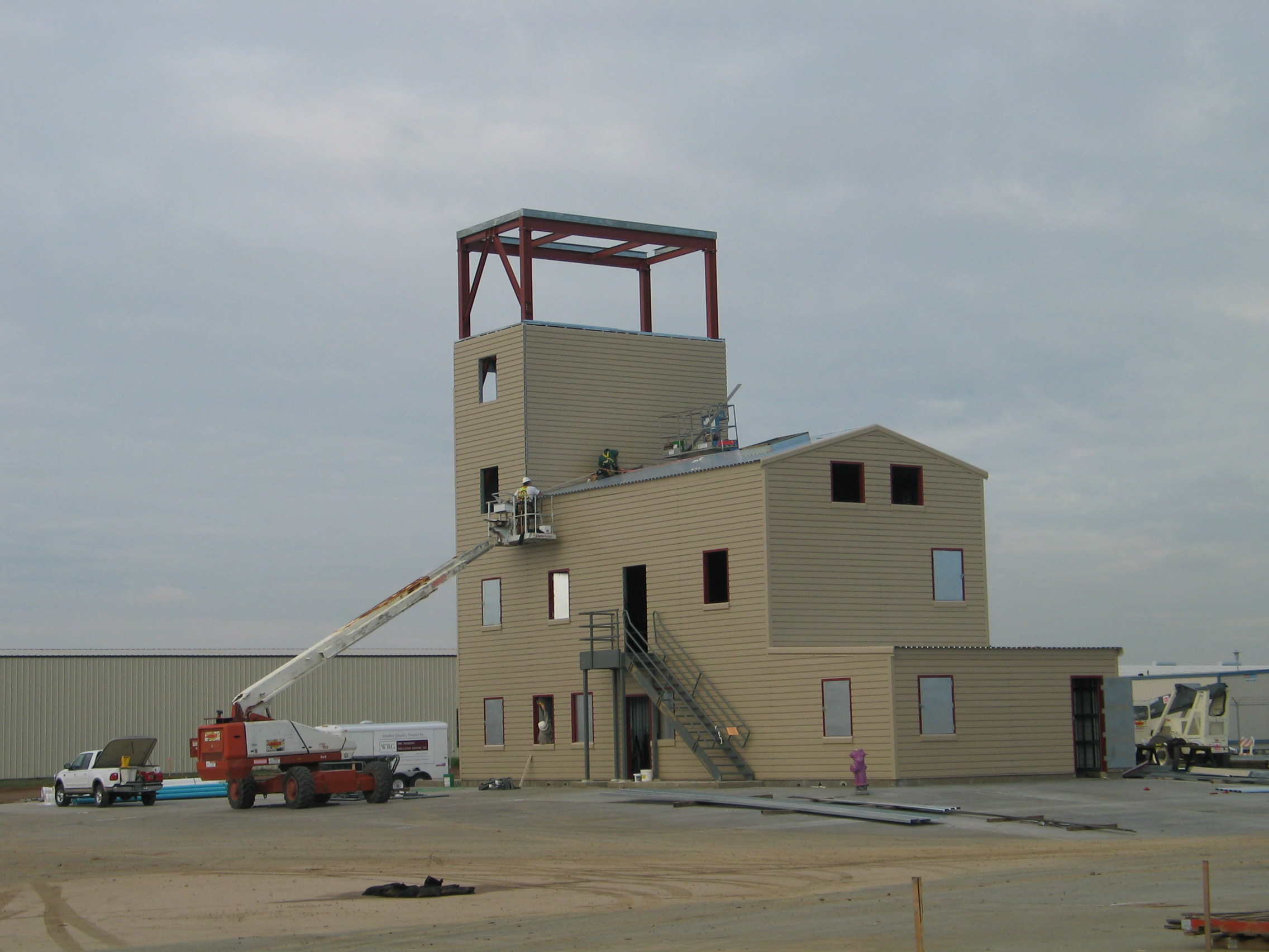 The Training Tower at the William Perry Schulze Training Center.