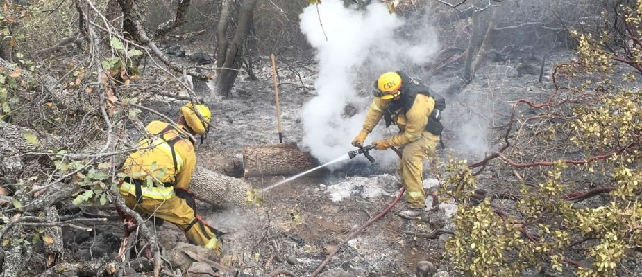 Strike Team Putting out a Fire