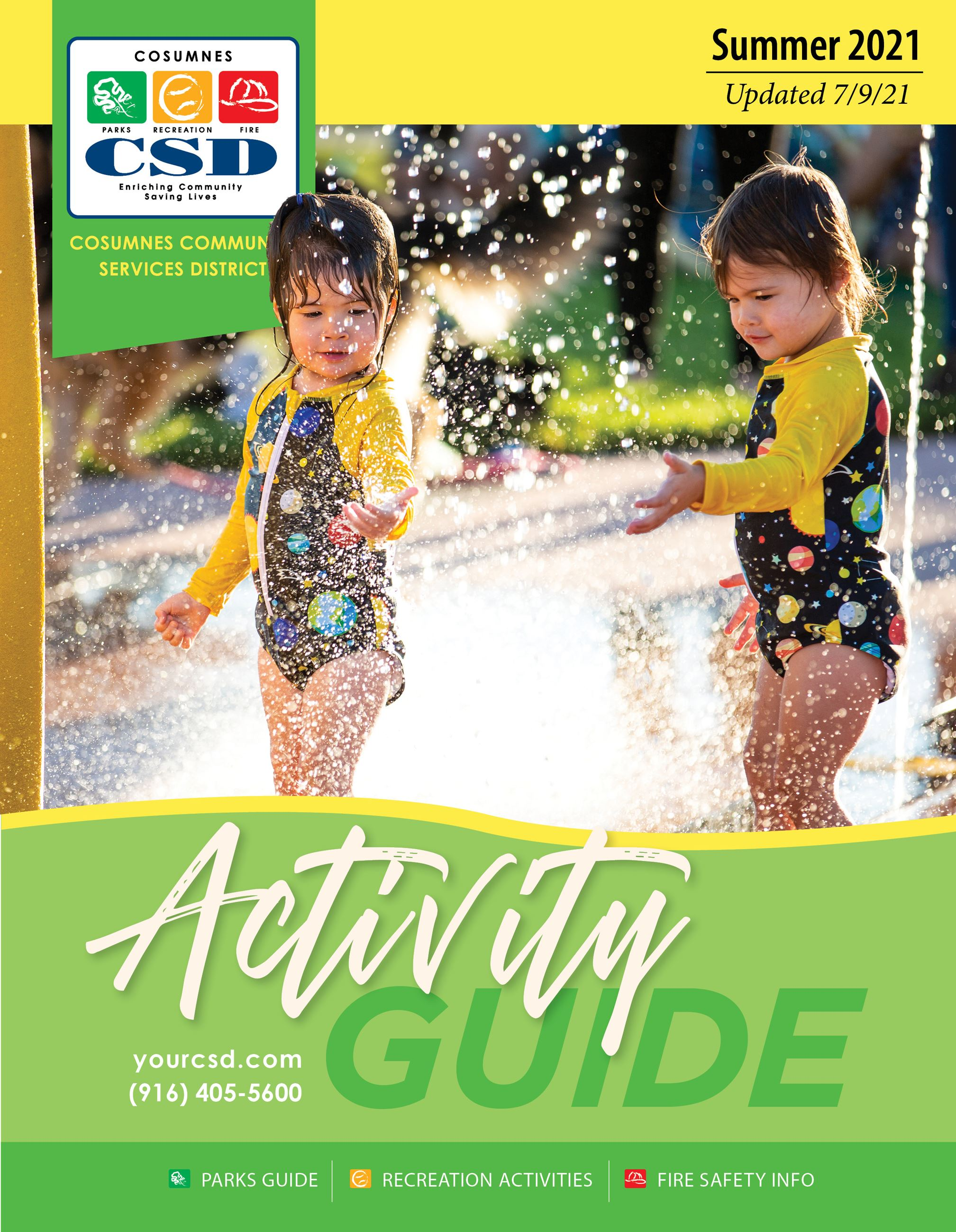 Activity Guide Cover. Updated April 22, 2021.