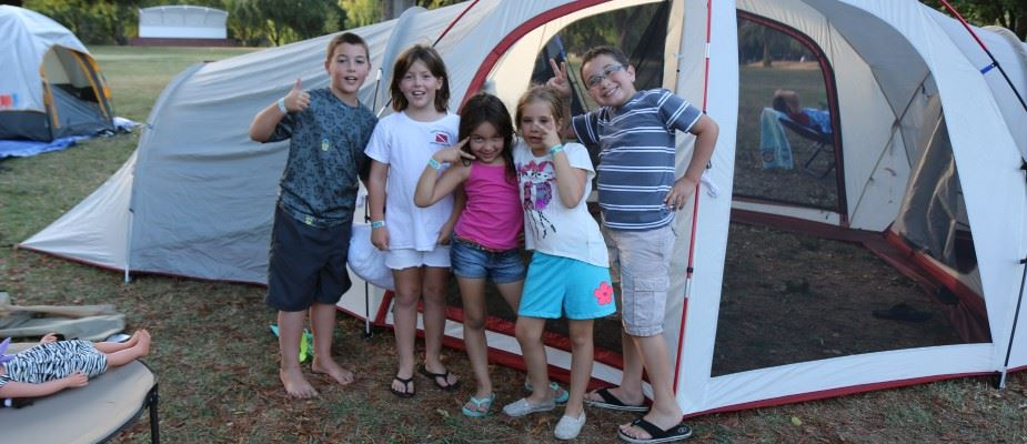 Participants enjoy the day at the annual Community Campout