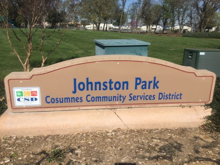 Johnston Park Sign