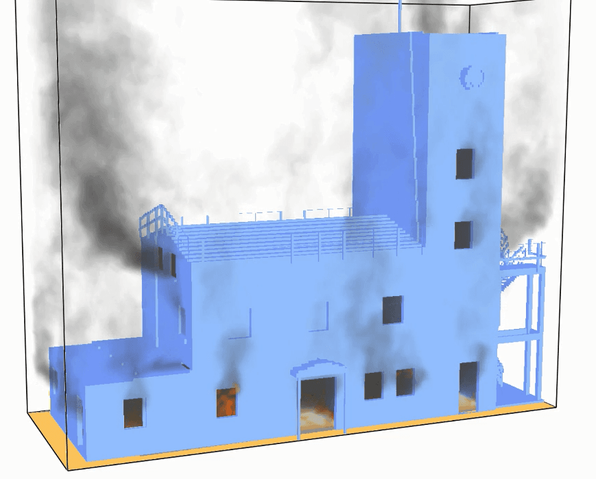 CFD Training Tower Model