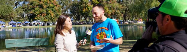 Media Interview with Joey Chestnut