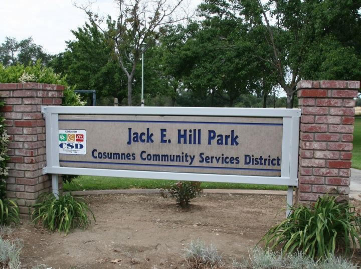 Hill Park Sign