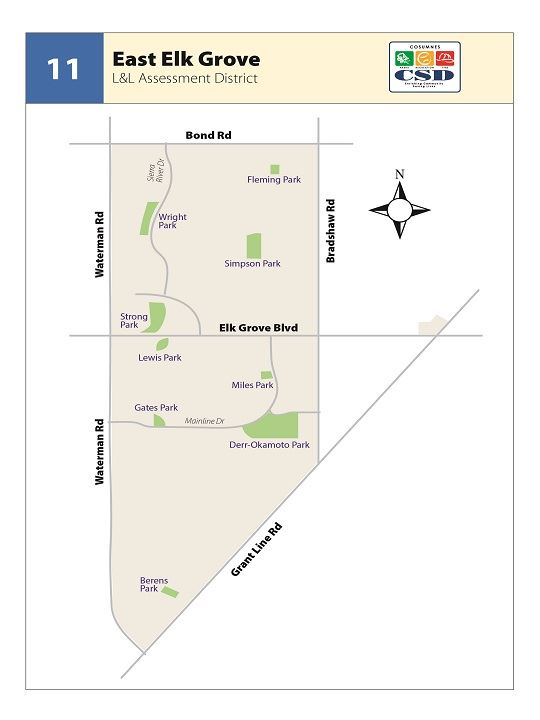 L&L Maps Zone 11 - Eask Elk Grove Thumbnail