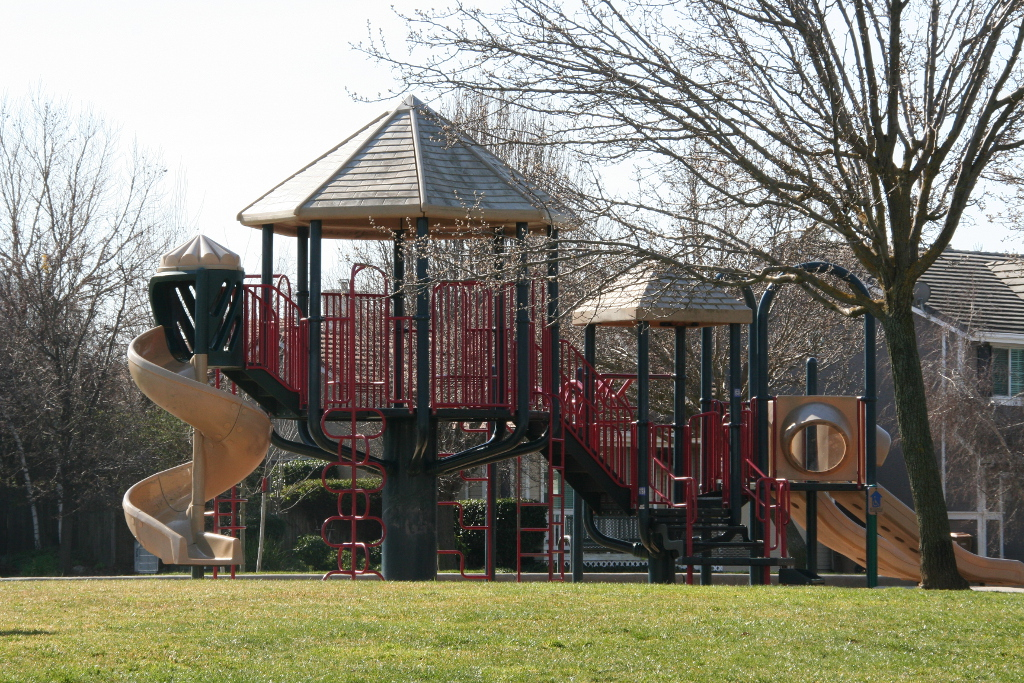 Rose Park Playground Climbing Features