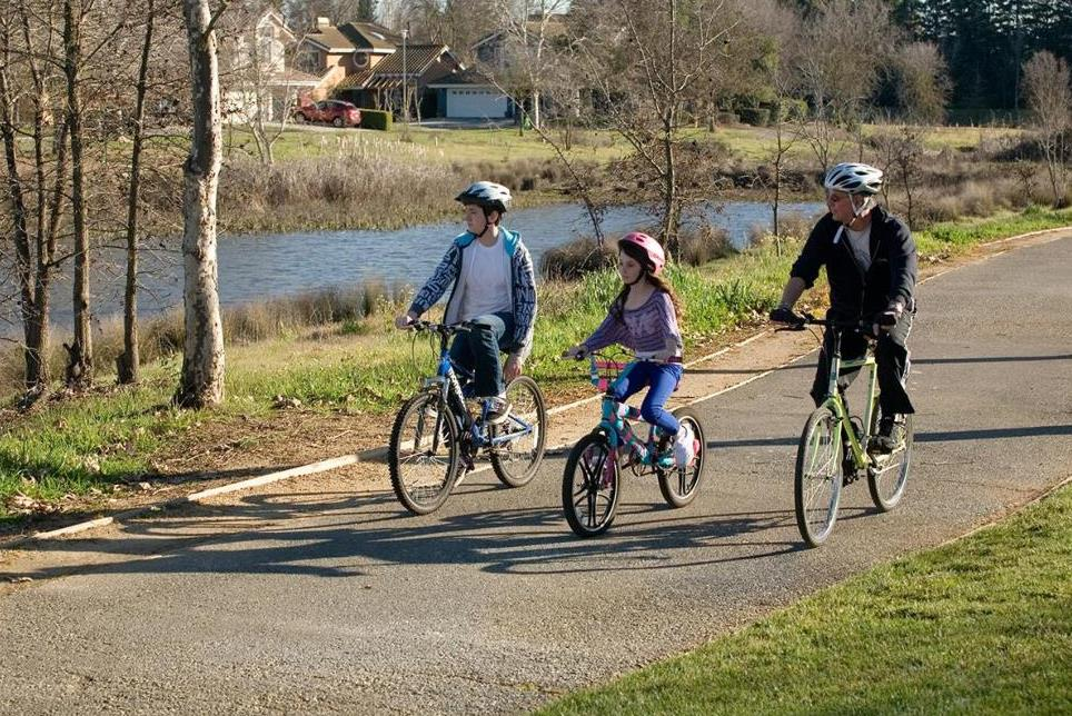 Design Guidelines for Greenbelts, Trails and Paseos - Biking Photo